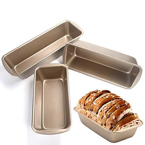 Garretlin Moule rectangulaire en acier au carbone anti-adhésif pour pain à pain et pain de viande Outil de cuisson pour four – Moyen