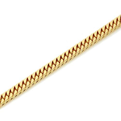K18 金 喜平 ネックレス 6面W カット 9g 45cm 中折れ式金具