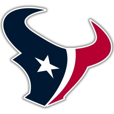 Yilooom Houston Texans NFL Football Sticker 2 Pack - Die Cut Vinyl Car Decal Sticker Bumper Window Sticker 2 Pack 6 Inches at Longest End