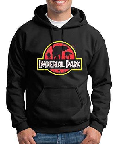 TShirt-People Imperial Park Kapuzenpullover Herren Wars at Star at XL Schwarz