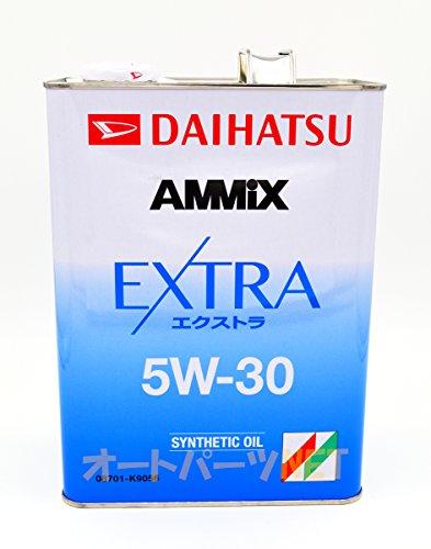 DAIHATSU/ダイハツ純正【AMMIX/アミックス】エンジンオイル【EXTRA/エクストラ 5W-30】4L 品番:08701-K9056