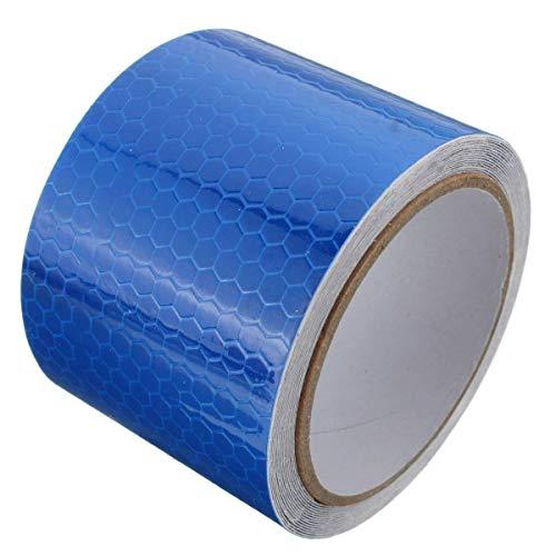 ZJZ Reflect Tape Warning Tape Sicherheitsmarker Tape Schutzstreifen für PKW LKW Motorrad Regenmantel 5cm x 3m