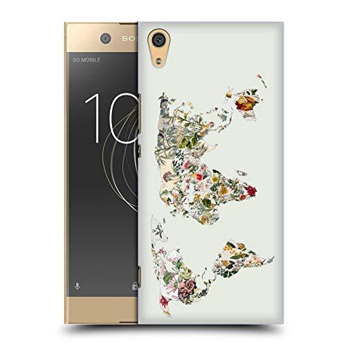 Offizielle Bianca Green Botanische Welt Gemischte Designs Harte Rueckseiten Huelle kompatibel mit Sony Xperia XA1 Ultra/Dual
