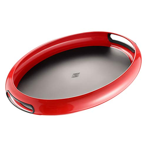 Wesco Tablett Spacy tray Oval, rot