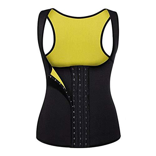Chaleco de neopreno para mujer para adelgazar la pérdida de peso, adelgazar el cuerpo, sudores calientes, traje de entrenamiento, camiseta sin mangas