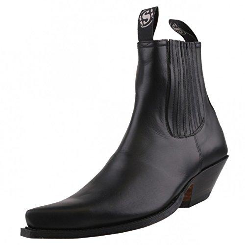 Sendra laarzen 1692 zwart