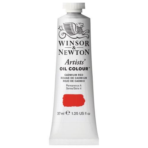 Winsor & Newton 1214094 Artists' Oil Color Paint, 37-ml Tube, Cadmium Red
