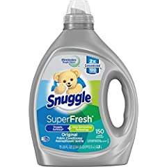 Snuggle Plus SuperFresh liquid fabric conditioner features the Snuggly softness you love, plus odor eliminating technology. It doesn't just mask tough odor, it helps eliminate it and releases Snuggly freshness. Snuggle Plus SuperFresh is the first-ev...