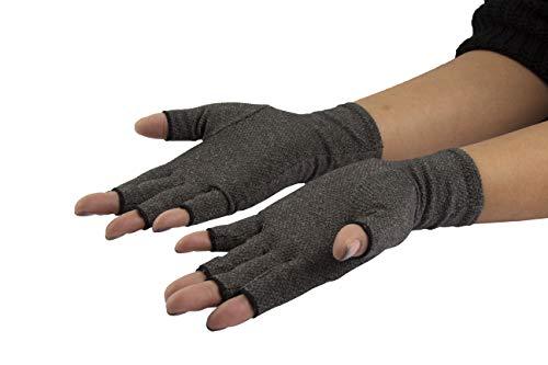 Bodytec Wellbeing Arthritis-Handschuhe mit zusätzlichem Halt, 3Größen.