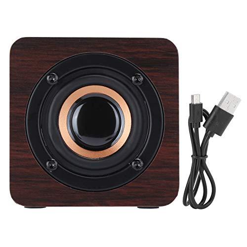 Semiter 【Venta del día de la Madre】 Altavoz Bluetooth con ABS Woodiness,...