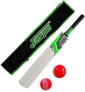 Jaspo Combo of Popular Willow Bat and Ball