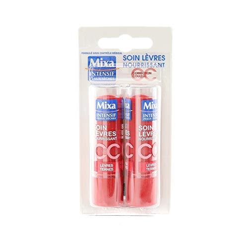 Soin lèvres CC nourissant lèvres ternes teinte Cerise (emballés par 2)