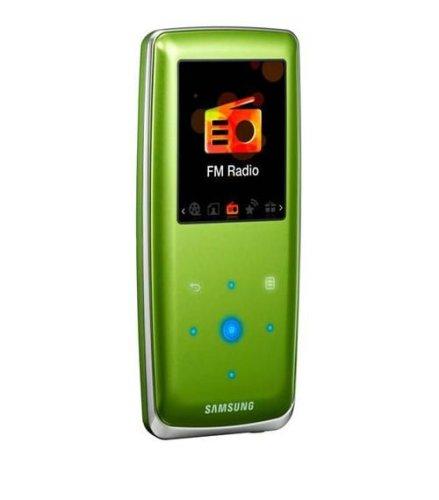 Samsung YP-S3JQG S3 Audio Player da 2 GB, Verde