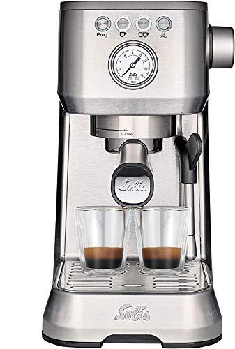 Solis Barista Perfetta Compact Programmable Espresso Machine (Stainless Steel)