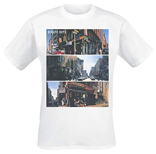 Beastie Boys Street Images Männer T-Shirt weiß XXL 100% Baumwolle Band-Merch, Bands