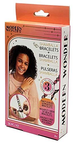 Modern Wonder 36-Piece Shamballa Bracelet Making Craft Kit