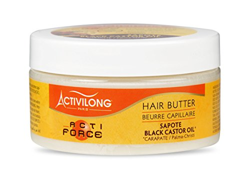 Activilong Actiforce - Burro capillare al ricino nero di Giamaica e al sapote, 100ml