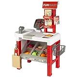 ColorBaby - Supermercado Juguete con Accesorios, Puesto de Mercado con escáner, Caja registradora con Scanner y Lector de Tarjeta, Tienda Infantil, Juguetes para niños 3 años
