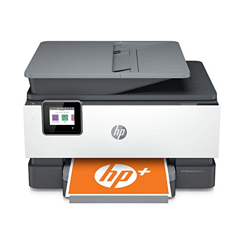 HP OfficeJet Pro 9015e All-in-One Wireless Color Printer for home office, with bonus 6 months free Instant Ink with HP+, works with Alexa (1G5L3A)