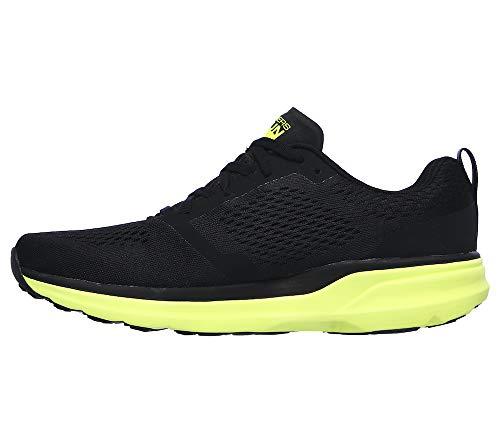Go Run Pure 2 - Performance Running & Walking Shoe Sneaker Black/Lime