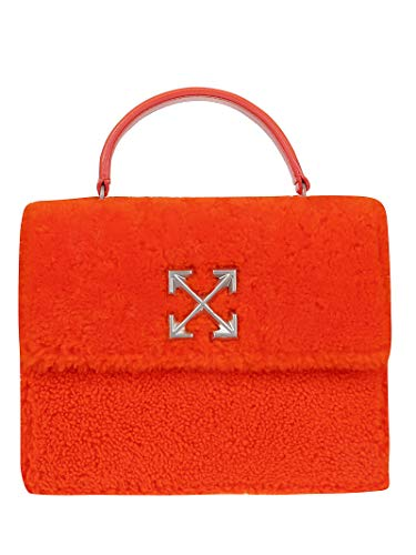 Luxury Fashion | Off-white Dames OWNA090F19E850501900 Rood Leer Handtassen | Herfst-winter 19