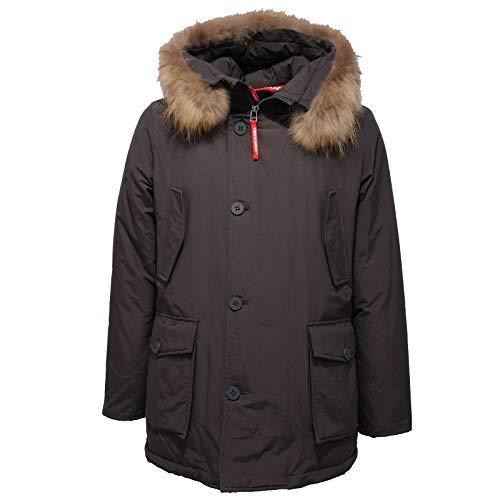 FREEDOMDAY 1120AC Giubbotto Uomo Parka New CAMPIGLIO Dark Grey Jacket Men [XXL]