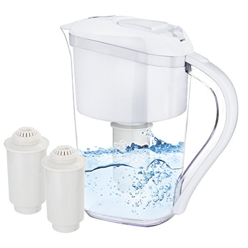 RISEPRO Alkaline Water Pitcher, 3.5 Liters, 2 Long-Life Filters, 7 Stage Filteration System AP3502
