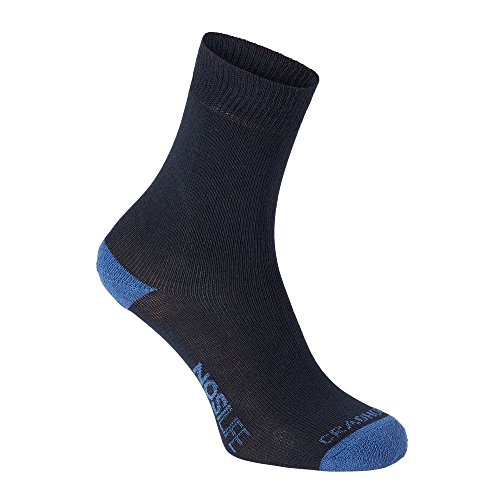 Craghoppers Damen Nl Twin Pack Socken, Dknavy/Sftdm, 3-5