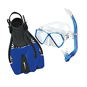 Mares Set X-One Marea Diving Kit-Blue/RBL, X-Large TBRBLLXL