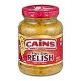Cains Sweet Mustard Hot Dog Relish
