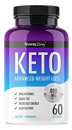keto Advanced Weight Loss Ketosis Supplement – 60 Capsules – 30 Days