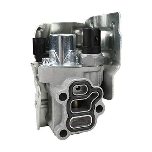 MITZONE VTEC Spulenventil mit Öldruckschalter und Dichtung kompatibel mit Honda Civic 2.0L CR-V ACCORD 2.4L Acura RSX K24 K20 Motor ersetzt 15810-PNE-G01 15810-PPA-A01 15810-RAA-A01 15810-RAA-A03