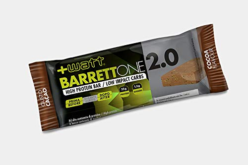 Barrett'one - +Watt - Box 20 Barrette Proteiche da 70g Cacao