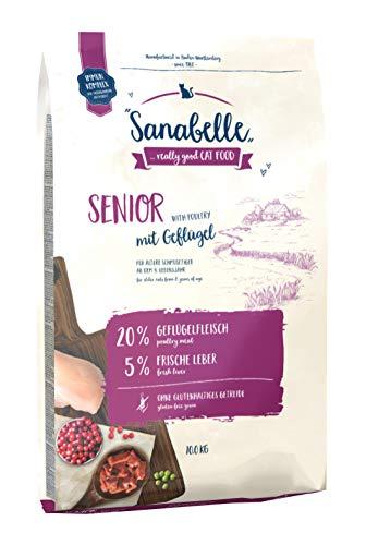 Sanabelle Senior | Katzentrockenfutter für ältere Katzen ab dem 8. Lebensjahr , 1er Pack (1 x 10000 g)