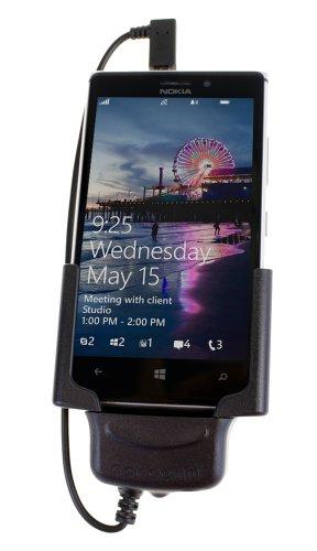 CarComm CMBS - 234 Multi-Basys Halterung für Nokia Lumia 925, geeignet für verschiedene Basysplatte Fakra, Multi Basysplatte Zig, Multi Basysplatte Open, für Nokia Lumia 925