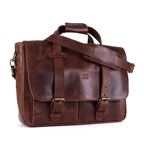 Portafolio Montana AG Leather 100% piel Unisex (Old West)