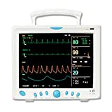 Carent Patient Monitor CMS9000 - Portable Multi-parameter 12 Inch Vital Sign Patient Monitor