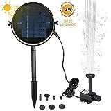 Renoble Solar-Springbrunnenpumpe, solarbetriebenes Springbrunnen-Set, Solarpanel mit Tauchpumpe für...