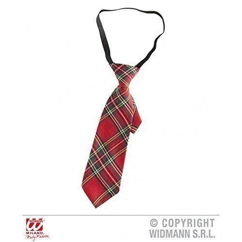 Lively Moments Rot - Karierte Schulmädchen - Krawatte im Hipsterlook