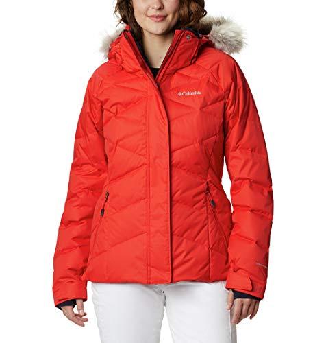 Columbia Lay D Down II Chaqueta de esquí Mujer, Naranja (Bold Orange Dobby), XL