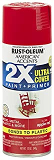 Rust-Oleum 327875 American Accents Spray Paint, 12 Oz, Gloss Apple Red (B078WM76Q4) | Amazon price tracker / tracking, Amazon price history charts, Amazon price watches, Amazon price drop alerts