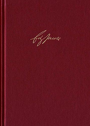 Friedrich Heinrich Jacobi: Briefwechsel - Nachlaß - Dokumente / Briefwechsel. Reihe I: Text. Band 3: Briefwechsel 1782–1784. Nr. 751-1107. ... Jacobi: Briefwechsel - Nachlass - Dokumen)