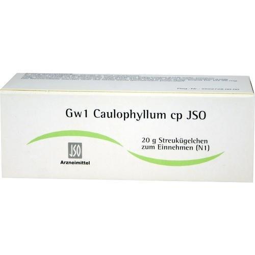GW1 CAULOPHYLLUM CP JSO 20g Globuli PZN:4942727