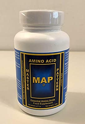 MAP Master Amino Acid Pattern Original Formula (120 Tablets) 99% Net Nitrogen Utilization (NNU)