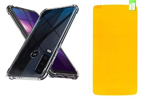 Pelicula De Gel Cobre 100% Display Motorola Moto G8 PLAY + Capa Antishock