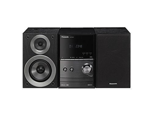 Panasonic SC-PM600EG-K Micro HiFi(40 Watt RMS, CD,UKW, Bluetooth) schwarz