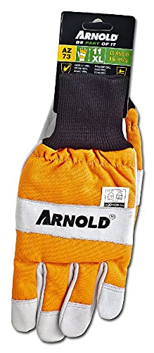 ARNOLD 6061-CS-1011 Schnittschutzhandschuh CS-1, Leder, Größe 11