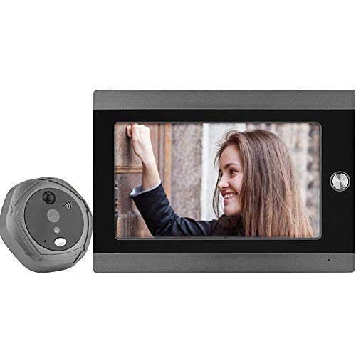 VBESTLIFE Timbre de Video WiFi Mirilla Digital Inteligente de la Puerta 7...