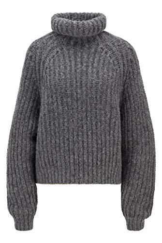 BOSS C_farantel Suéter pulóver, Medium Grey30, S para Mujer