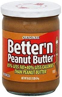 Pack of 6 Better 'N Peanut Butter in Original Flavor Spread, 16 oz